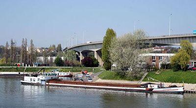 Resultado de imagen para puerto fluvial de Gennevilliers