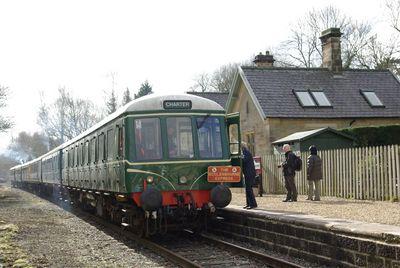 Wirksworth -Shottle Idridgehay Railway Station Photo 4 Duffield Line.