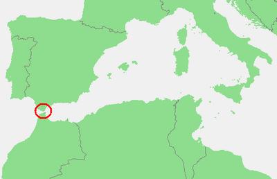 Meerenge Von Gibraltar Karte.Strasse Von Gibraltar Wasser Routeyou