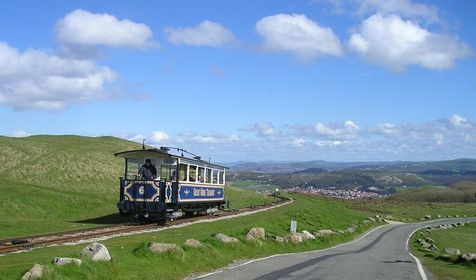 Great Orme Tramway - Tram route   RouteYou