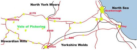 Stopping at Kirkham Priory - Race cycle route   RouteYou